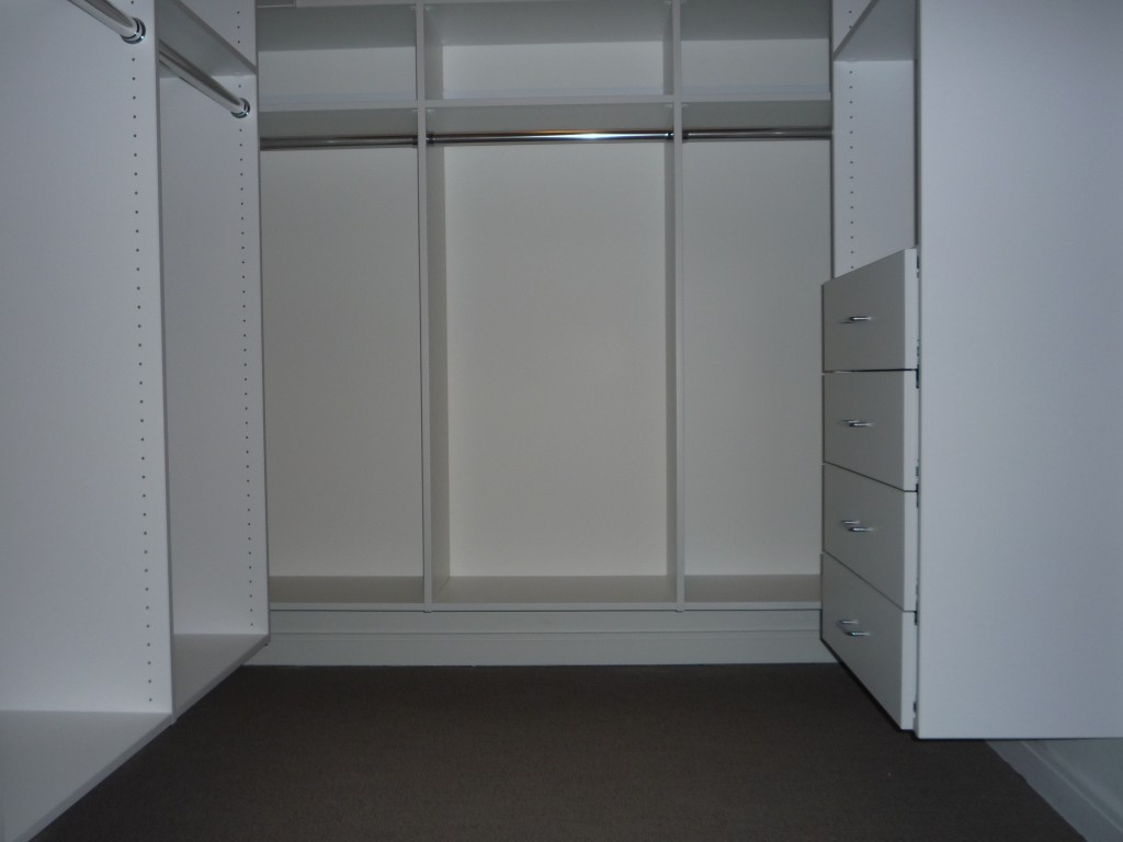 Accessible Walk-In Closet